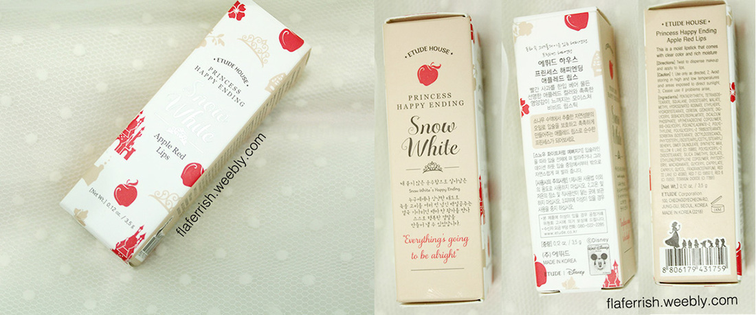 Etude House Princess Happy Ending Lipstick (Red Apple